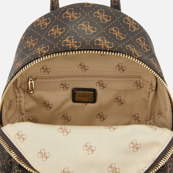 a549580705 Guess Women s Leeza Small Backpack - Brown  Image 5