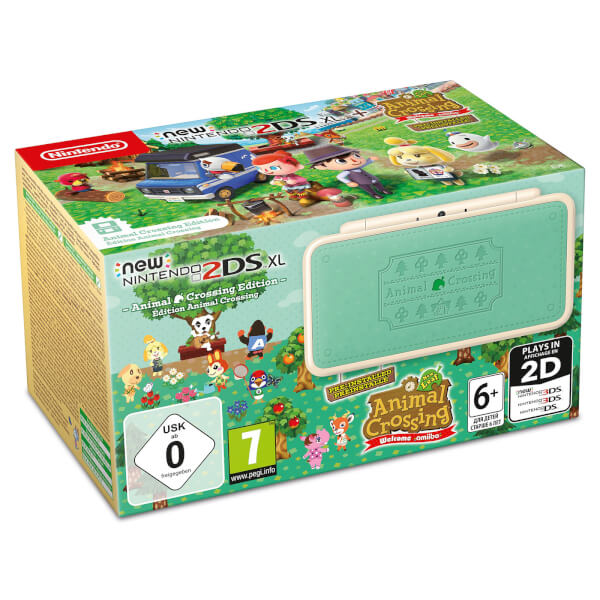 new nintendo 2ds xl animal crossing edition animal crossing new