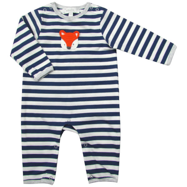 Albetta Crochet Fox Babygrow - 0-3 Months