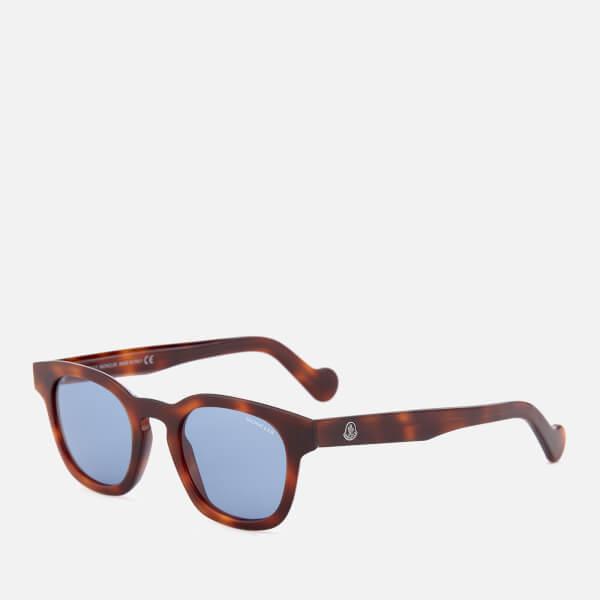 5a1eb6446 Moncler Men's Wayfarer Sunglasses - Havana/Other/Blue: Image 2