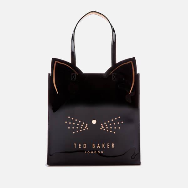 77ecbcdf2c Ted Baker Women's Felicon Cat Large Icon Bag - Black: Image 1