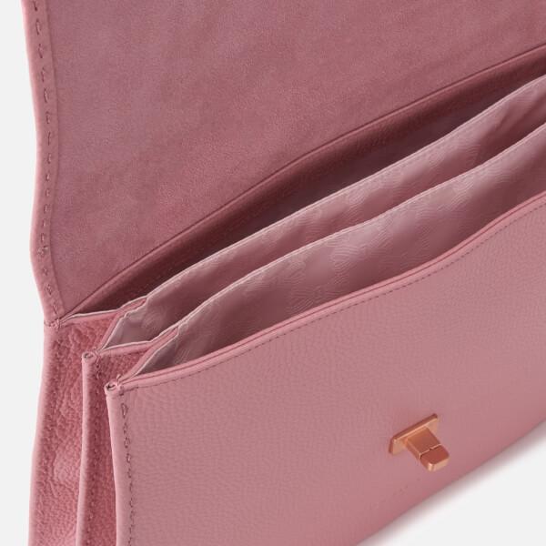 3520ef88e8 Ted Baker Women's Jessi Concertina Leather Shoulder Bag - Dusky Pink: Image  5