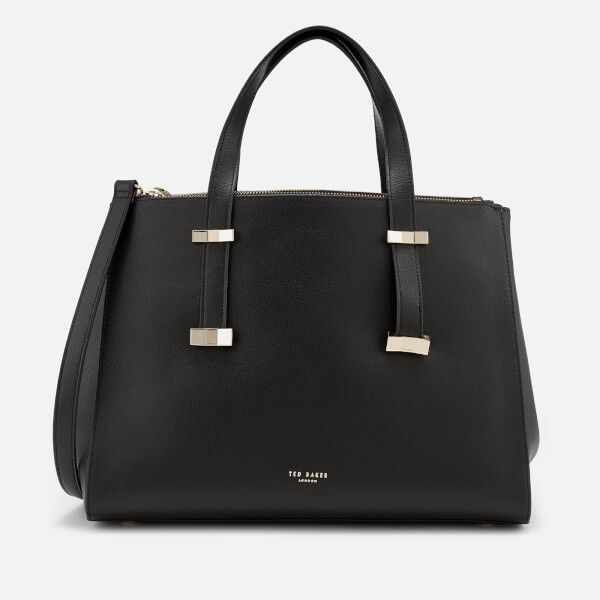 50472eecd2 Ted Baker Women's Alexiis Bow Adjustable Handle Large Tote Bag - Black:  Image 1