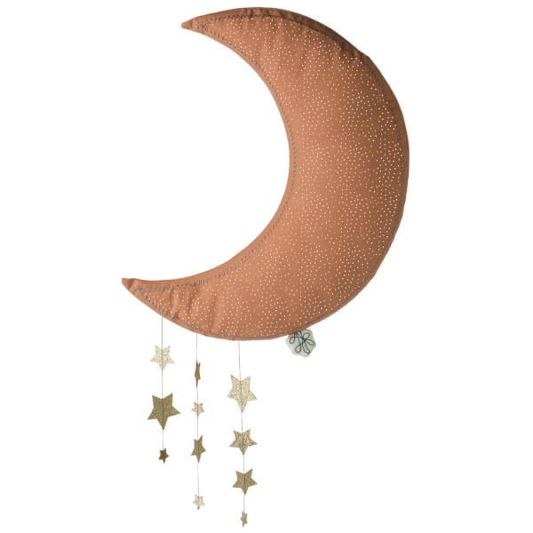 Picca Lolou Hanging Moon with Stars - Pink