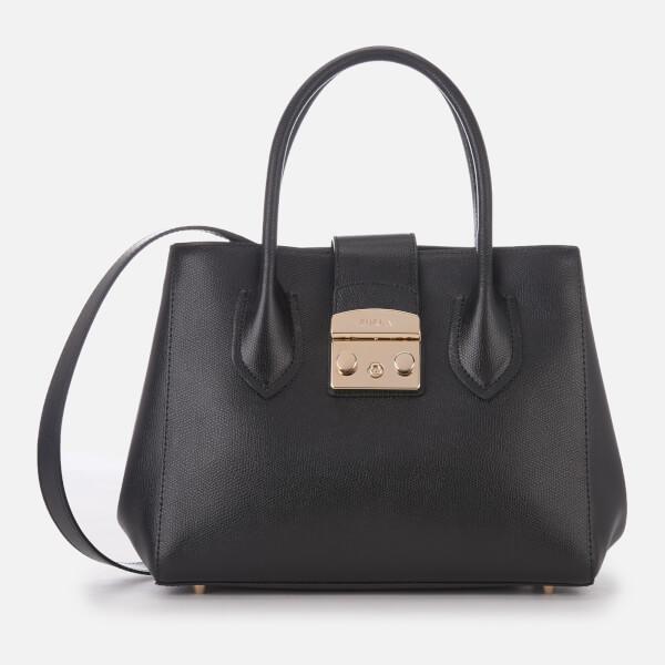e7e6ece8cf Furla Women s Metropolis Small Tote Bag - Onyx - Free UK Delivery ...