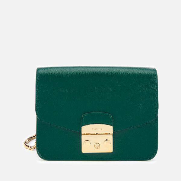 Furla Women's Metropolis Small Cross Body Bag - Green