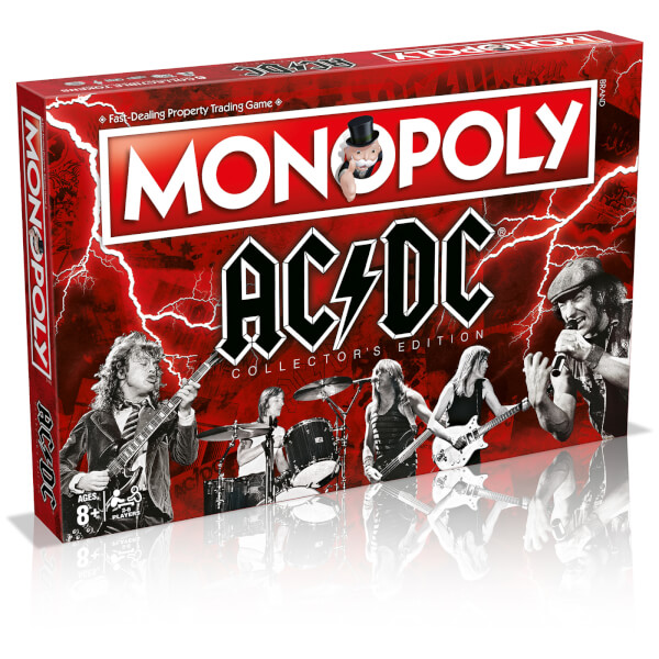 Monopoly AC/DC Board Game