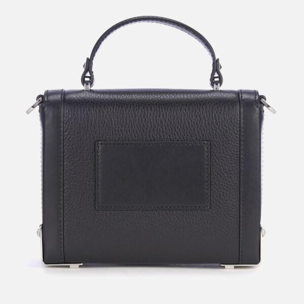 0885b9d464f7 MICHAEL MICHAEL KORS Women s Jayne Small Trunk Bag - Black  Image 2