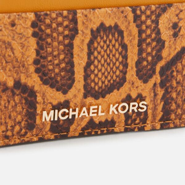 2eeb2d98d958 MICHAEL MICHAEL KORS Women s Money Pieces Card Holder - Marigold  Image 3