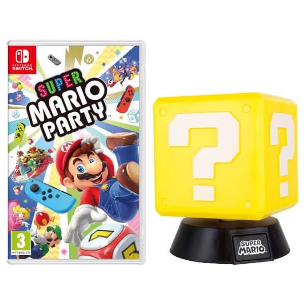 Super Mario Party + Question Block Lamp