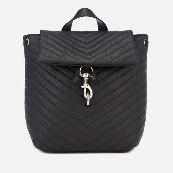 Rebecca Minkoff Women's Edie Flap Backpack - Black