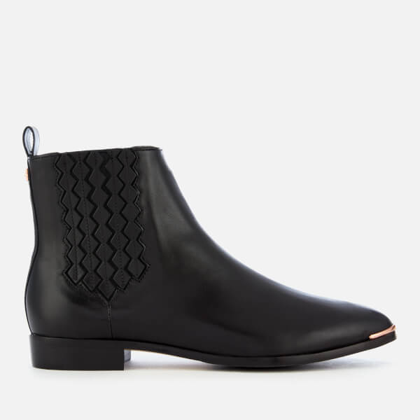 a2e78f07b Ted Baker Women s Liveca Leather Chelsea Boots - Black
