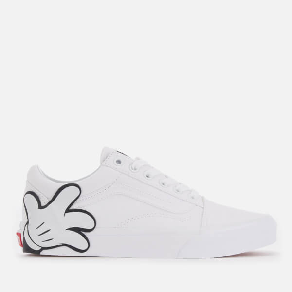 5c8a0bfda87 Vans Women s Disney Mickey Old Skool Trainers - True White  Image 1