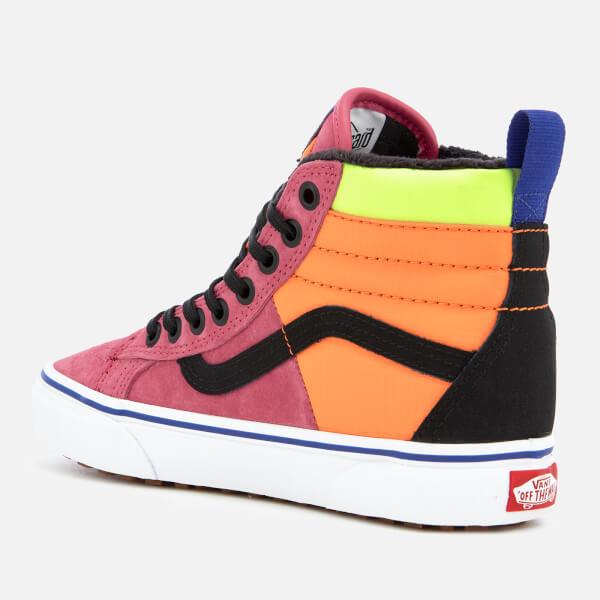 1611dc6422af Vans Women s Sk8-Hi Trainers 46 MTE DX - Pink Yarrow Tangerine Black ...