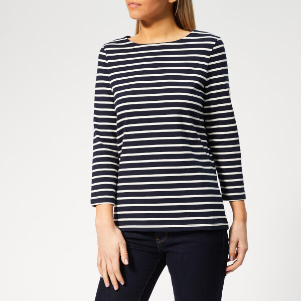Joules Women's Harbour Stripe Top - Hope Stripe French Navy