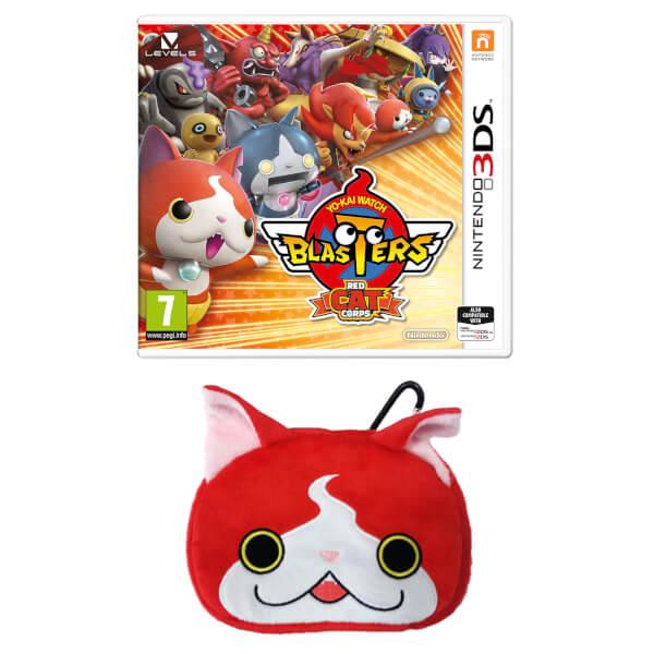 YO-KAI WATCH BLASTERS: Red Cat Corps + Jibanyan Multi-Case