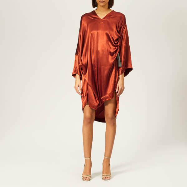 Vivienne Westwood Anglomania Women's Mini Kaftan Dress - Rust