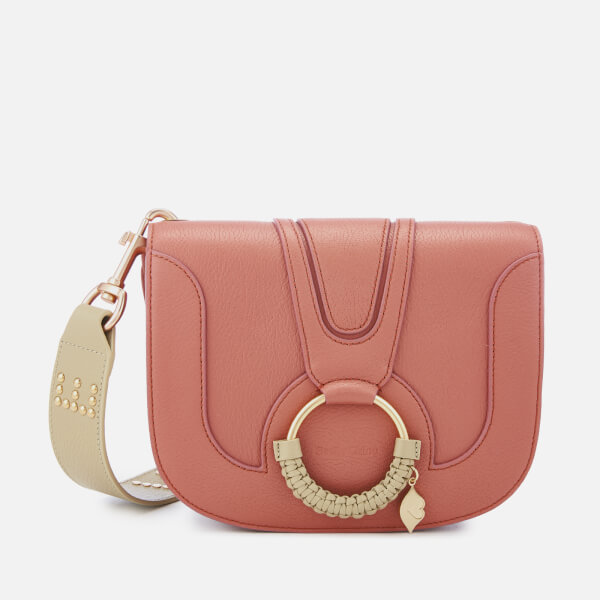 See By Chloé Women's Hana Cross Body Bag with Contrast Strap - Cheek