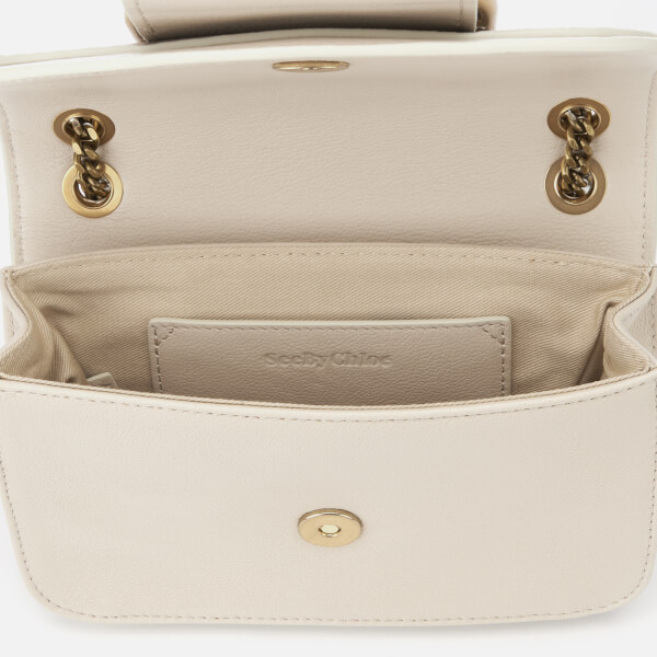 ec61b19c5abb See By Chloé Women s Small Hopper Cross Body Bag - Cement Beige  Image 5