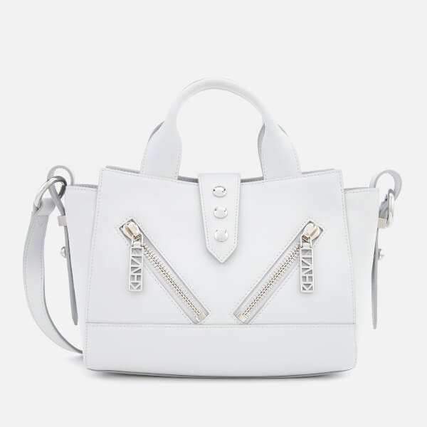 KENZO Women s Mini Kalifornia Tote Bag - Pale Grey - Free UK ... b7136c3be5