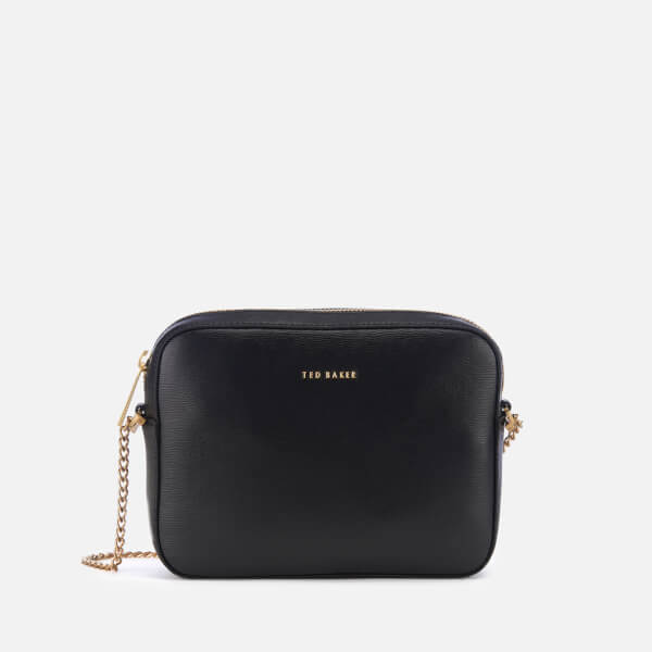 4e78ce06f639 Ted Baker Women's Juliie Leather Cross Body Camera Bag - Black: Image 1