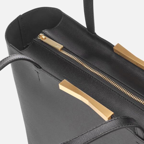 8962c13f0c62 Ted Baker Women s Jackki Faceted Bow Mini Bark Shopper Bag - Black  Image 5