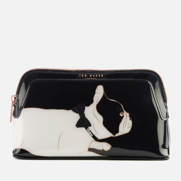 Ted Baker Women's Peggyy Cotton Dog PVC Makeup Bag - Black