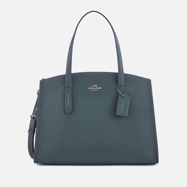Coach Women's Polished Pebble Leather Charlie Carryall Bag - Cypress