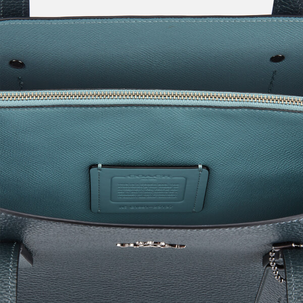 84dec5cc0e Coach Women s Polished Pebble Leather Charlie Carryall Bag - Cypress  Image  5