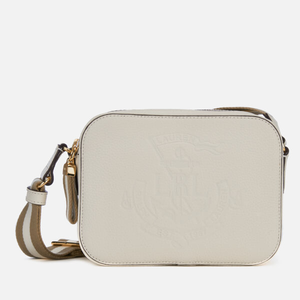 de723a512ad4 Lauren Ralph Lauren Women's Huntley Medium Cross Body Bag - Vanilla: Image 1