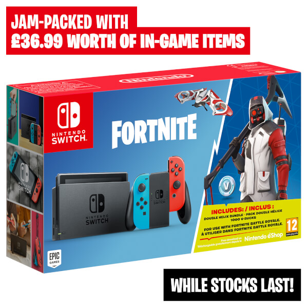 Nintendo Switch Limited Edition Fortnite Bundle (incl ...