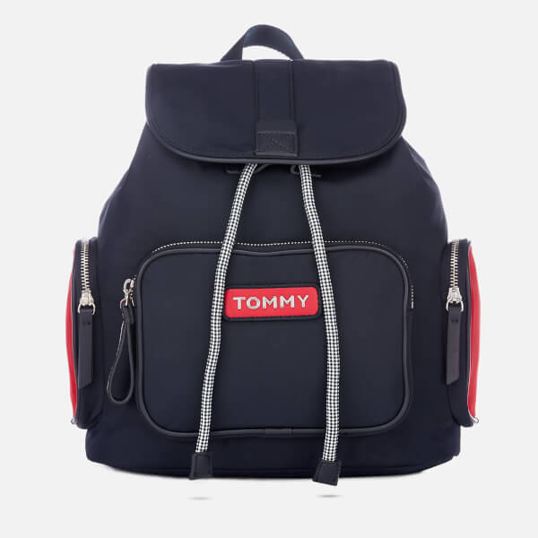 382007464c Tommy Hilfiger Women s Varsity Nylon Backpack - Corporate  Image 1