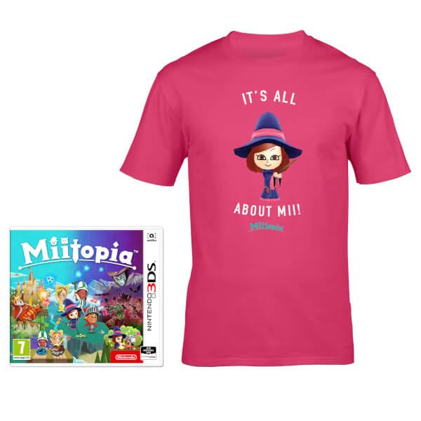 Miitopia + All About Mii T-Shirt (Pink)