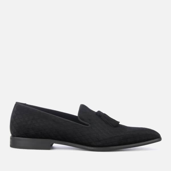 Kurt Geiger London Men's Randolph Velvet Loafers - Black