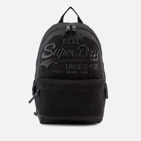 Superdry Men s Premium Goods Backpack - Black Clothing  bca3940528812