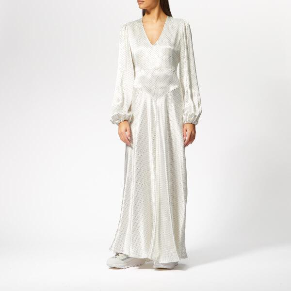 Ganni Women's Cameron Maxi Dress - Egret