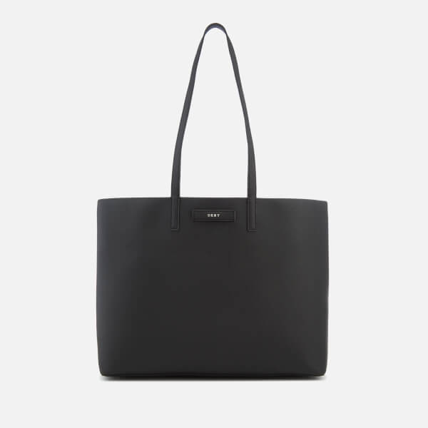 DKNY Women's Brayden Large Reversible Tote Bag - Black