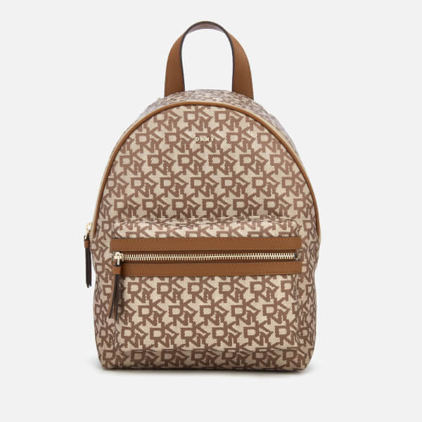 DKNY Women's Casey Medium Backpack - Cream