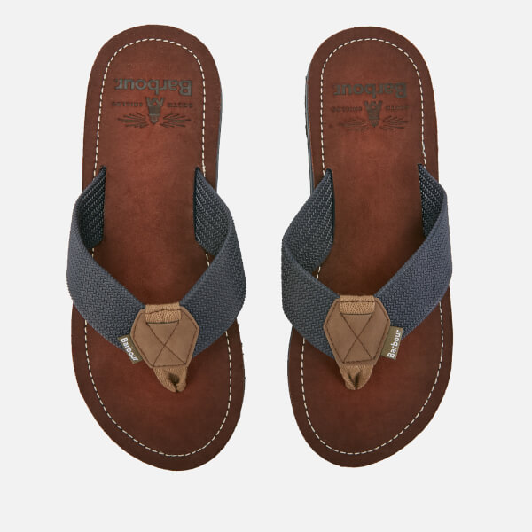 Barbour Men's Toeman Beach Toe Post Sandals - Navy