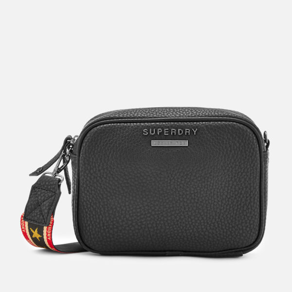 Superdry Women's Delwen Strap Cross Body Bag - Black