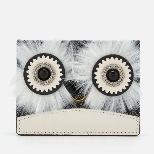 Kate Spade New York Women's Penguin Card Holder - Black