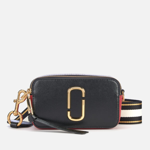 Marc Jacobs Women's Snapshot Cross Body Bag - Black/Red