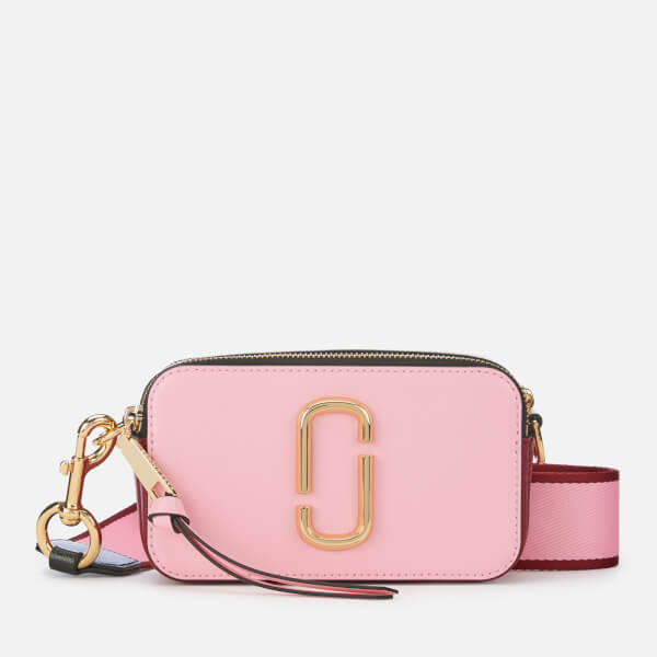 Marc Jacobs Women's Snapshot Cross Body Bag - Baby Pink/Red