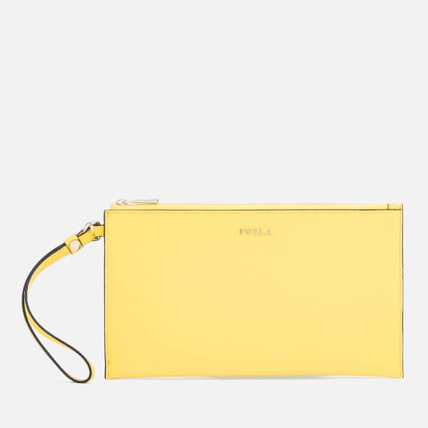 Furla Women's Babylon XL Envelope Bag - Yellow