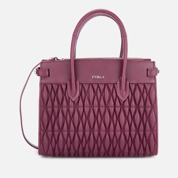 Furla Women's Pin Cometa Small Tote Bag - Purple