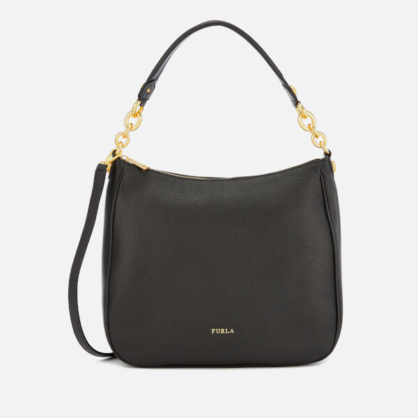 Furla Women's Cometa Medium Hobo Bag - Black