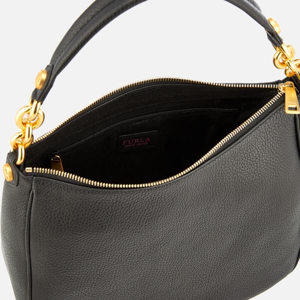 Furla Women s Cometa Medium Hobo Bag - Black  Image 5 b70b01855c74e