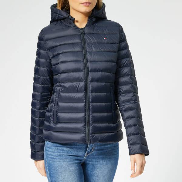 e07559f7f6f4 Tommy Hilfiger Women s Essential Down Packable Jacket - Midnight  Image 1