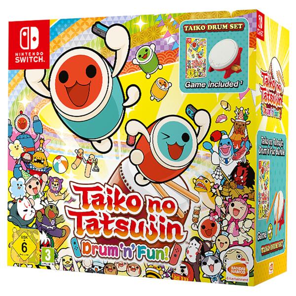 Taiko no Tatsujin: Drum 'n' Fun! Drum Controller Bundle