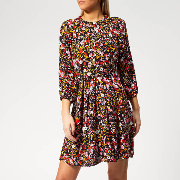 Whistles Women's Floral Meadow Print Dress - Pink/Multi